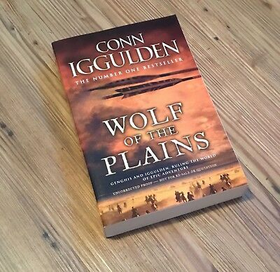 Conn Iggulden - The Wolf of the Plains - proof