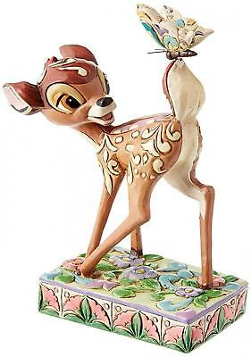 Disney Traditions 4010026 Figurine Bambi la Merveille du Printemps Résine 12 cm