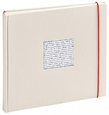 Panodia 271124 Linea Traditionnel Album Photo avec 60 Pages Blanc Casse 30 x...