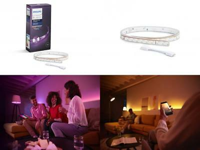 Philips Hue Ruban Lumineux Lightstrip Extension White And Color Ambiance de...