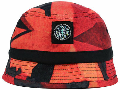SUPREME MESH CROWN Crusher RED Bucket Hat Cap Small   Medium NEW! S ... e3af08b4c06b