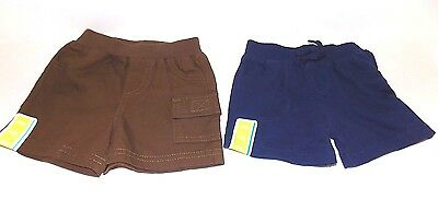 Lot of 2 Pairs Circo Boys Summer Shorts Size 3 Month, NEW
