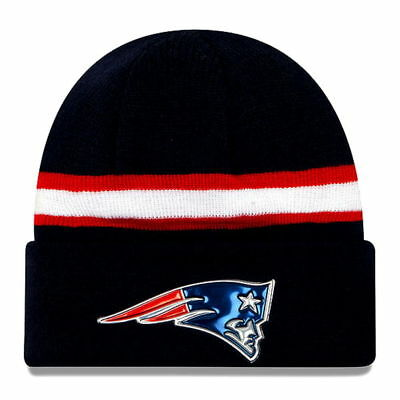 New England Patriots New Era Navy Color Rush On Field Cuffed Knit Beanie New