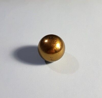 Vintage Brass Plated Ball Lamp Finial