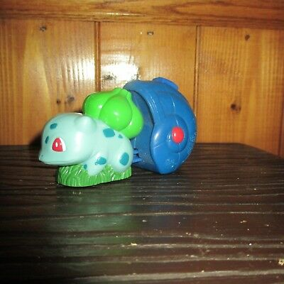 1999 Burger King Kids Meal Toy Pokemon Bulbasaur LAUNCHER MINT NEW UNUSED WORKS