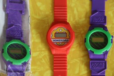 Honey Comb cereal promotional watches from the 1980s or 1990s