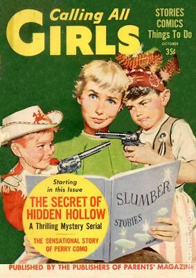 Calling All Girls (Parents' Magazine) 2nd Series #24 1956 GD/VG 3.0 Stock Image