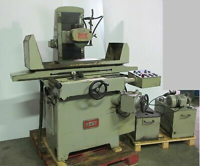 """Kent Model KGS-250 AHD 8"""" X 19"""" Automatic Surface Grinder Magnetic Chuck"""