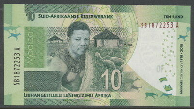 Südafrika / South Africa - 10 Rand 2018 UNC - Pick New, 100 years Mandela