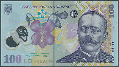 Rumänien / ROMANIA - 100 Lei 2018 UNC - Pick New (new arms)