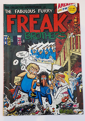FABULOUS FURRY FREAK BROTHERS: The Collected Adventures Comic