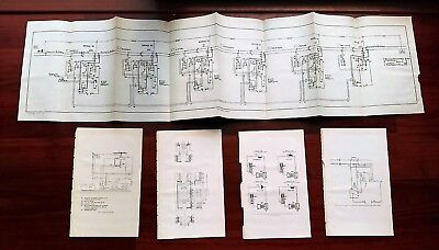 1914 U.S. Safety Report Diagrams and Photoplates Train Control System
