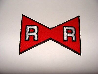 Red Ribbon Patch Ecusson Thermocollant Ruban Rouge   Dragon Ball