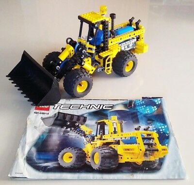 Lego Technic 8464 Pneumatic Front End Loader With Air Tank