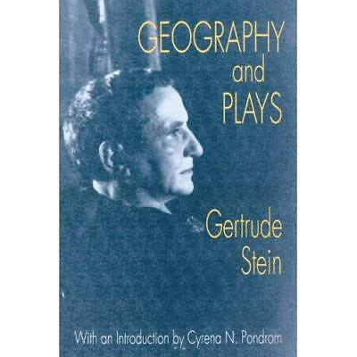 Geography and Plays - Paperback NEW Gertrude Stein, 1992-11-30
