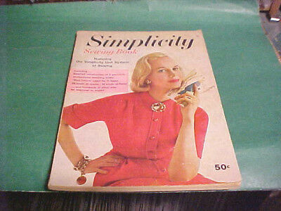 1958 Simplicity Sewing Book Instructions Of 6 Garments