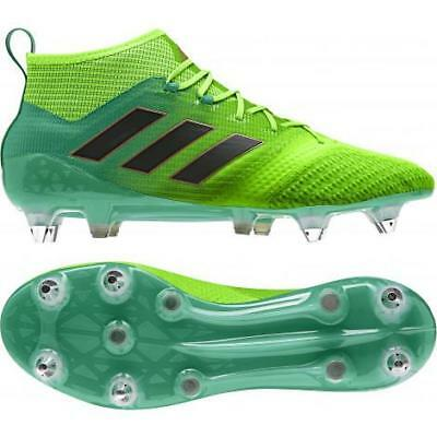 best sneakers 4ae98 5addf ADIDAS ACE 17.1 Primeknit SG Mens Football Boots (BB0870) rrp£200