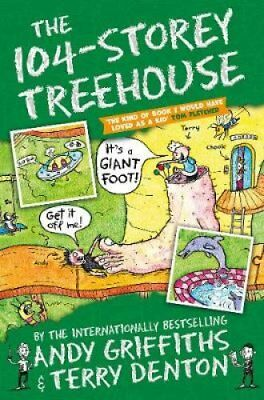 The 104-Storey Treehouse by Andy Griffiths 9781509833771 (Paperback, 2018)
