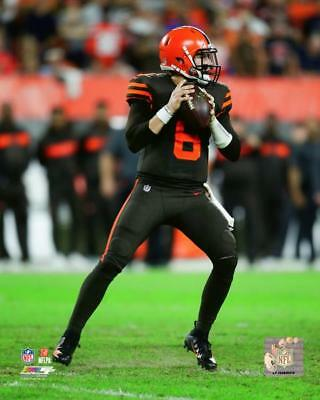 c1b89d983c5 BAKER MAYFIELD CLEVELAND Browns NFL LICENSED un-signed 8x10 Photo ...