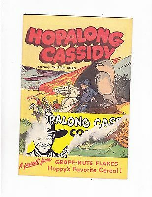 Hopalong Cassidy    1950    Grape-Nuts Flakes Giveaway