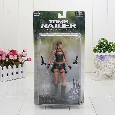 Tomb Raider Lara Croft Action Sammler Figur Underworld PS2 Classic Film Figuren