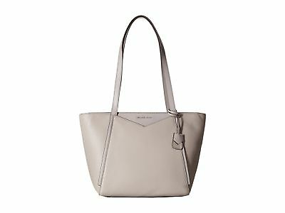 b7ba63860fd6 MICHAEL Michael Kors Whitney Small Pebbled Leather Tote, Color 081 Pearl  Grey