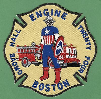 Boston Fire Department Engine Company 24 Patch