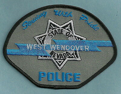 West Wendover Nevada Police Patch