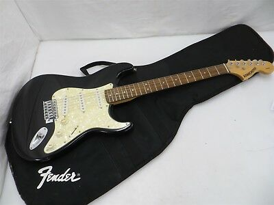 Fender Starcaster Strat Electric Guitar 3 Tone Sunburst 1