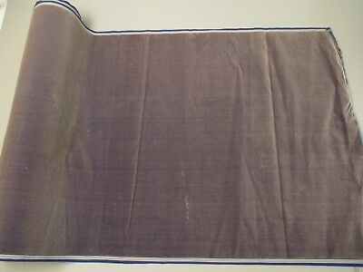 Antique velvet fabric France Victorian cotton silk Dust lake