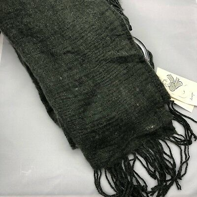 A New Day Women's Scarf Olive Green Large Rectangle Drape Fashion Scarf Blanket