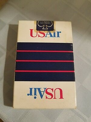 Us Air Playing Cards-Unopened-1991