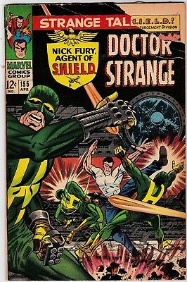 Strange Tales #155, April 1967! Good/very Good Condition! Silver Age Classic!