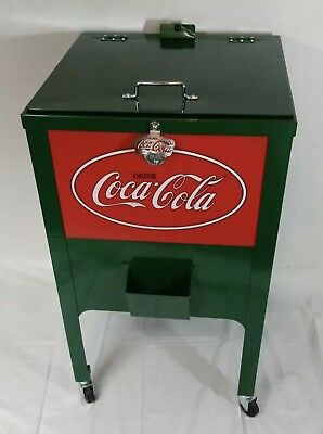 coca cola cooler coke ice chest-