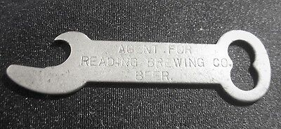 Rare Pre-Pro Reading Beer - Brewing Co Metal Bottle Opener Buena Vista Pa