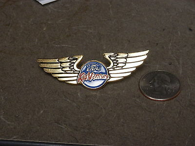 Eaa Kid-Venture 2 Pin Lot Oshkosh Usa Fly-In Aviation Experimental Young Eagles