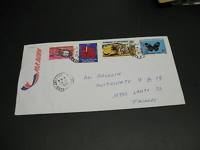 Ivory Coast 1979 airmail cover to Finland *17068