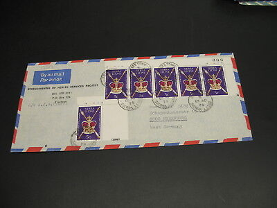 Sierra Leone 1979 airmail cover to Germany *17017