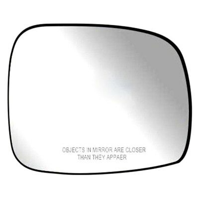 For Dodge Grand Caravan 08-18 Passenger Side Mirror Glass w Backing Plate Heated