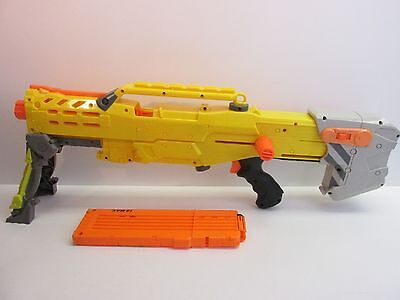 NERF longshot cs -6 GUN LOT for darts toy gun working N STRIKE ELITE 377