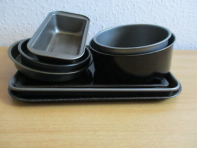 Job Lot Heavy Bakeware - 8 items - Assorted / Mismatched Cafe / Kitchen -  W649