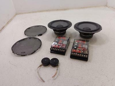 "Harley Davidson Focal 3 K2 POWER KPS 6.5"" 6 1/2"" SPEAKERS AND CROSSOVERS SPEAKER"