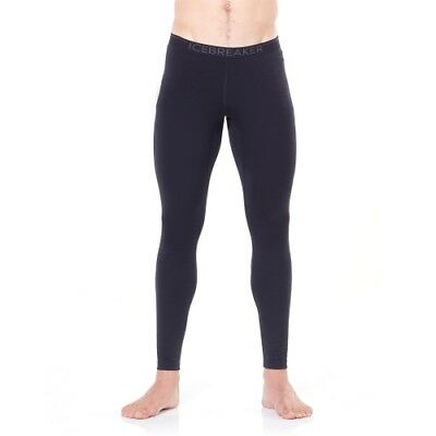Icebreaker 200 Oasis Leggings men black/monsoon Mann Funktionsunterhose schwarz