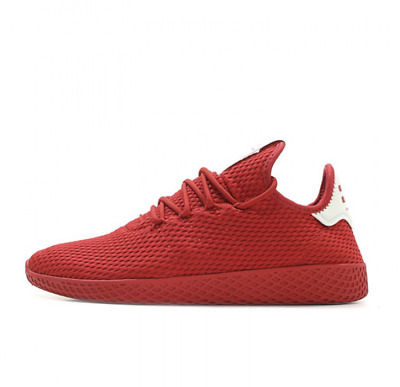 e01dc7d1cd359 Men s Adidas Pharrell Williams PW Tennis Hu BY8720 Scarlet Red Triple SZ  7-13 DS