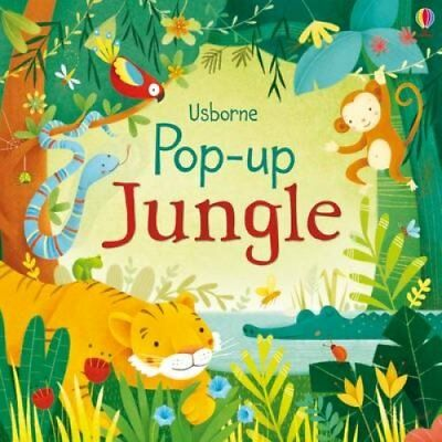 Pop-up Jungle by Fiona Watt 9781409550310 (Board book, 2015)