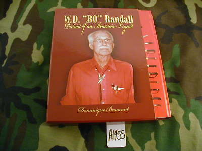 """New Randall Knife Knives New Book Limited Edition """"w.d.'bo' Randall...""""  #a1455"""