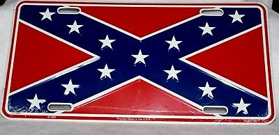 New Rebel License Plate - Made in USA