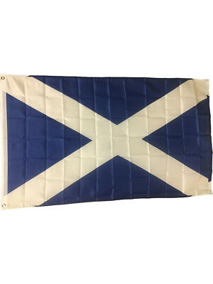 3x5 Scotland Cross of St. Andrew's Flag Andrews Flags