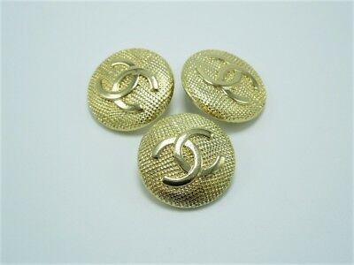 Chanel Button Replacements Lot of 3 -  20 MM