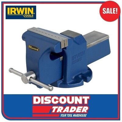 Irwin Record 100mm Engineers Bench Vice 10507771